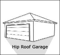 I e remodeling solutions a division of david fabbo for Hip roof garage plans